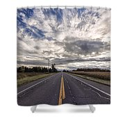 Route 436 Shower Curtain