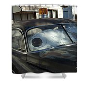 Route 66 Cars Shower Curtain