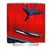 Route 66 Classic Cars 1 Shower Curtain