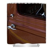 Route 66 Classic Cars 14 Shower Curtain