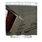 Route 66 Classic Cars 2 Shower Curtain