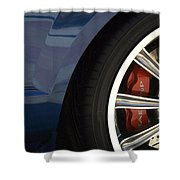 Route 66 Classic Cars 3 Shower Curtain