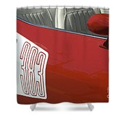 Route 66 Classic Cars 5 Shower Curtain