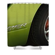 Route 66 Classic Cars 7 Shower Curtain