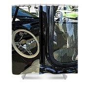 Route 66 Classic Trucks 2 Shower Curtain