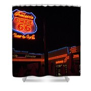 Route 66 Cruisers Shower Curtain