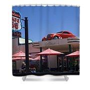Route 66 Cruisers Williams Arizona Shower Curtain
