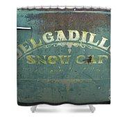 Route 66 Del Gadillos Shower Curtain