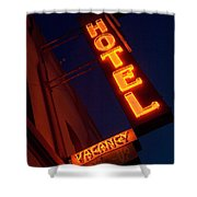 Route 66 Hotel Williams Shower Curtain