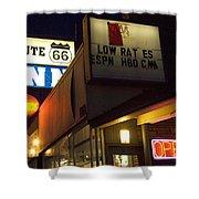 Route 66 Inn Shower Curtain
