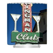 Route 66 Kingman Club Shower Curtain