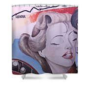 Route 66 Mural 10 Shower Curtain