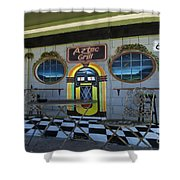 Route 66 Mural Seligman Shower Curtain