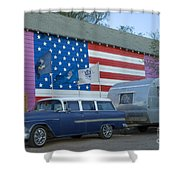 Route 66 Nomad Shower Curtain