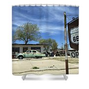 Route 66 Still Open Shower Curtain
