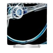 Route 66 Take The Wheel Shower Curtain
