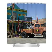 Route 66 The Real Mader Shower Curtain
