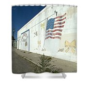 Route 66 Wall Shower Curtain