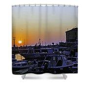 Rovinj Sunset Shower Curtain