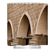 Row Of Arches Shower Curtain