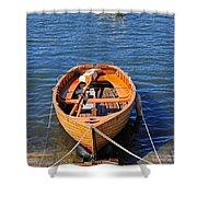 Rowboat Shower Curtain by Joana Kruse