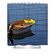 Rowing Boat Shower Curtain