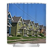 Rows And Rows Shower Curtain