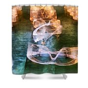 Rows Of Safety Goggles Shower Curtain