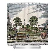 Roxbury, Massachusetts Shower Curtain