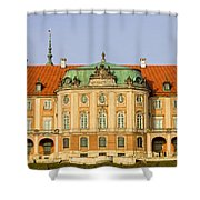 Royal Castle In Warsaw Shower Curtain