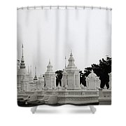 Royal Cemetery Shower Curtain