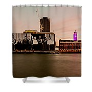 Royal Family And Oxo Tower Shower Curtain