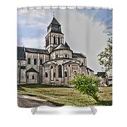 Royal Fontevraud Abbey Shower Curtain