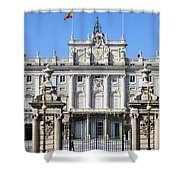Royal Palace In Madrid Shower Curtain