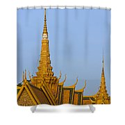 Royal Palace Roof. Shower Curtain