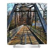 Rube Nelson Bridge 1 Shower Curtain