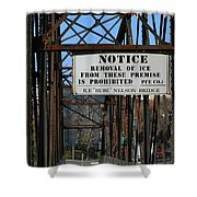 Rube Nelson Bridge 3 Shower Curtain