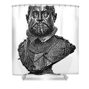 Rudolf II (1552-1612) Shower Curtain