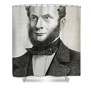Rudolf Julius Emanuel Clausius Shower Curtain