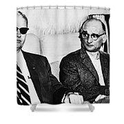 Rudolph Abel (1903-1971) Shower Curtain