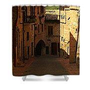 Rue De La Italia Shower Curtain