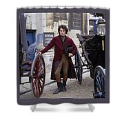 Rufus Sewell Shower Curtain