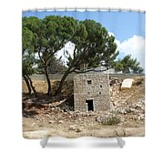 Ruined Castle Shower Curtain
