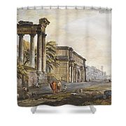 Ruins Shower Curtain