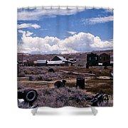 Ruins Of Bodie Shower Curtain