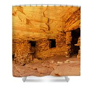 Ruins Structures Shower Curtain