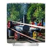 Rumley Powers The Saw Shower Curtain