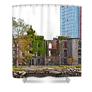 Run Down Ivy Shower Curtain