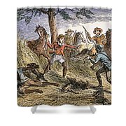 Runaway Slave Shower Curtain by Granger