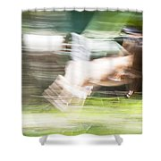 Running Deer Shower Curtain